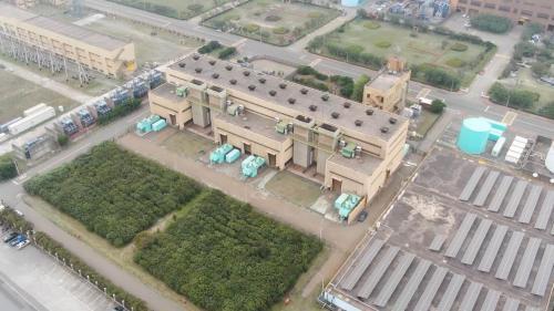 於1990年7月4部機組完工正式商轉,在2015年5月起轉為緊急備用電力設施。