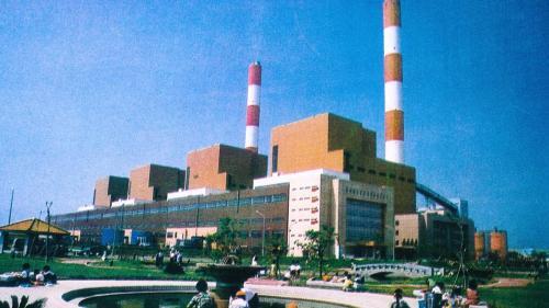 台中電廠1~8號汽輪發電機組廠房舊照