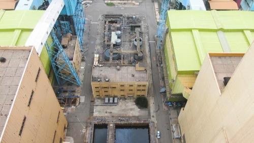 台中電廠廢水處理廠俯瞰