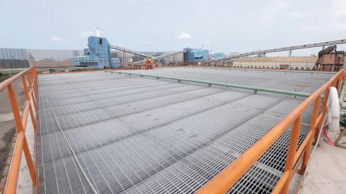 新廢水處理廠於2020年完工,可將排煙脫硫設備排出後的廢水做更高級的處理。