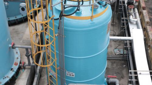 台中電廠新廢水處理廠廢水處理設備