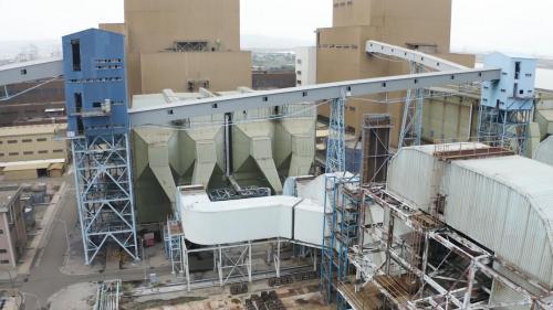 台中電廠靜電集塵器