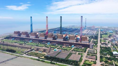 台中電廠廠區俯瞰