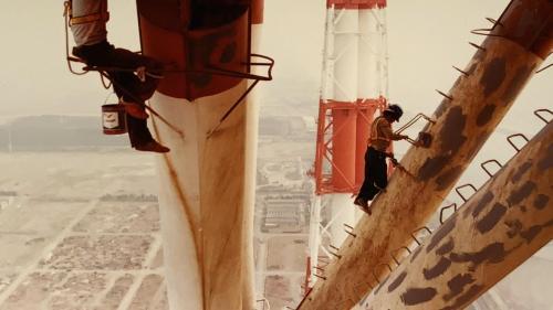 興達電廠煙囪高250公尺為全台灣最高的煙囪