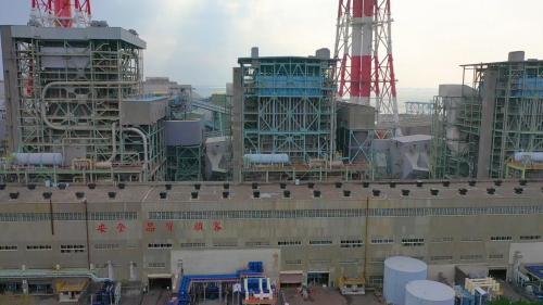 於1983年12月商轉裝置容量50萬瓩,屬燃煤機組。