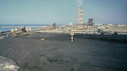 由於興達發電廠初期土地面積有限,露天煤場面積較小,機組使用的煤炭進口後儲存於大林發電廠,部分則透過轉運碼頭運送至興達發電廠。