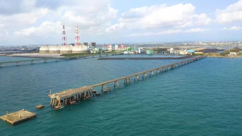 興達電廠舊外海棧橋及舊卸煤碼頭