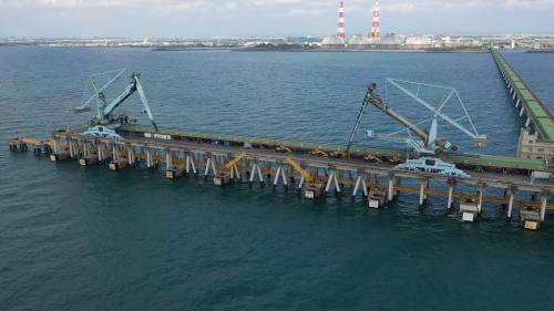 興達電廠卸煤碼頭