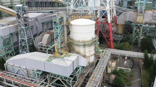 興達電場FGD脫硫設備俯瞰