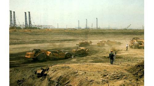 高雄港:中船船塢開挖
