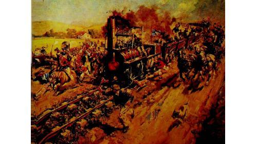 於1825年十月二十七日舉行首日通車。