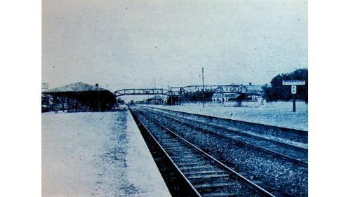 唐山站建於1881年,為中國第一條自建鐵路唐胥鐵路的第一站。