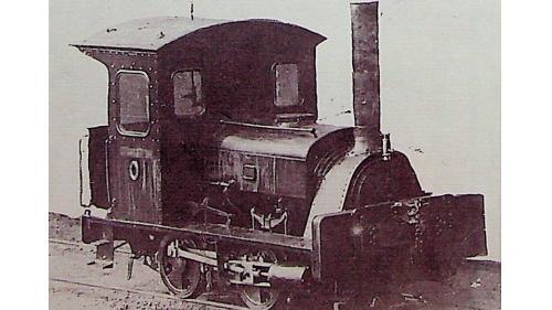 1882年啟用於唐胥鐵路,自英國購入,是中國保存的最古老的機車。