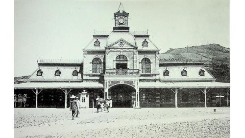 第三代基隆車站舊照