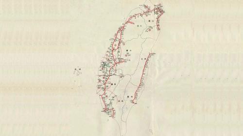 日治時期台灣鐵道圖