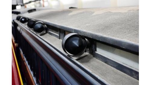 SA4102總督花車魚雷型通風器特寫照