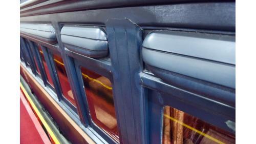 SA4102總督花車車窗特寫照