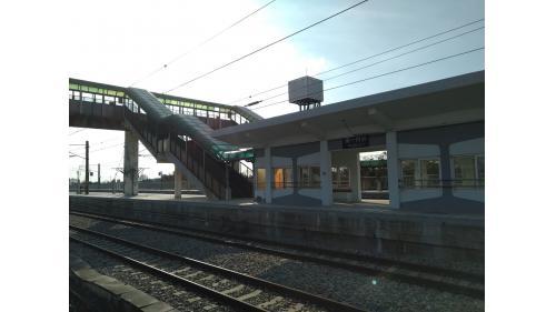 大山車站第一月台
