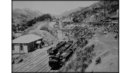 建於1929年,位於新北市平溪區,為臺灣鐵路管理局平溪線的終點站。