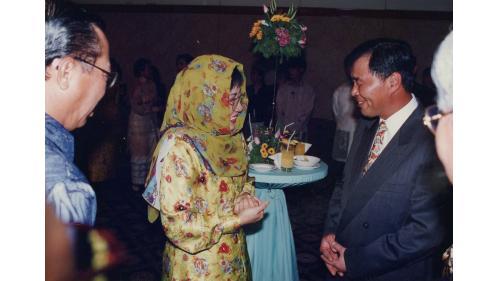 榮工處曾元一處長與蘇哈托總統大女兒Tutu