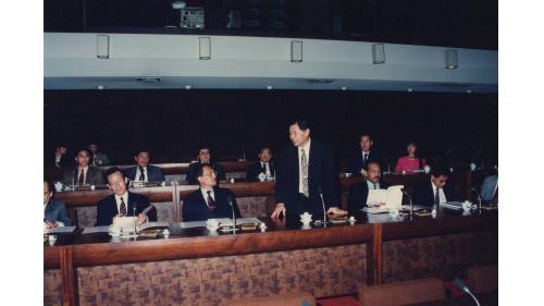 曾元一處長迎接馬來西亞財政部長安華(Anwar)來訪