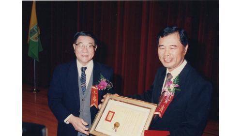 榮獲 中國土木水利學會優良施工工程獎章