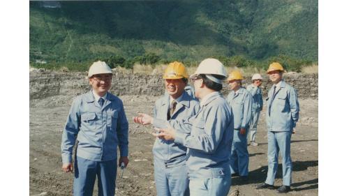 榮工處處長曾元一訪中南部工地 視察台南工業區工程