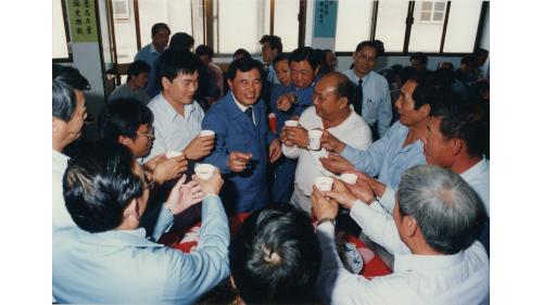 榮工處處長曾元一訪南化工區