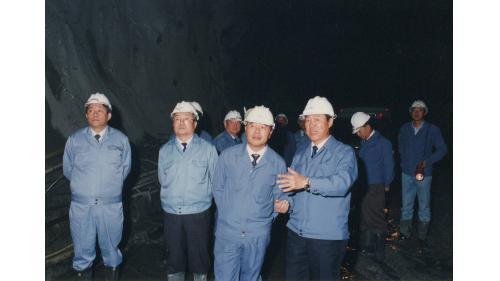 曾元一處長視察馬鞍電廠頭水隧道
