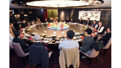 海峽會晚宴參與台灣公共建設檔案之貴賓20170209