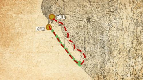 高雄港:第二港口開闢前,雖旗津與本島相連,但因旗津地形狹長跟鼓山之間的往返非常不便。早在明清時期就有居民以竹筏及舢舨撐渡。1910年後則以渡輪的方式往返,至今也帶動了旗津地區的商業觀光