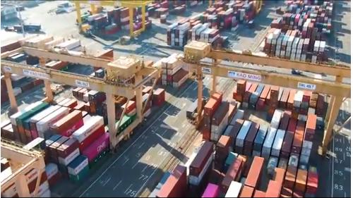 高雄港第六貨櫃中心