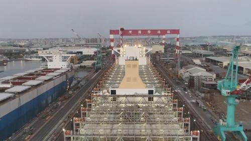 高雄港:台灣國際造船公司