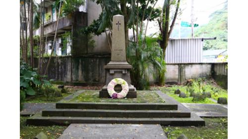 基隆港附近的法國公墓