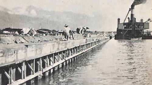 花蓮港防波堤擴建工程(1959-1963)