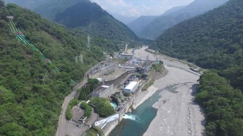 大甲溪流域 天輪壩、天輪電廠