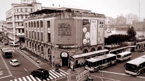 基隆港:歐式現代化建築--日本郵船株式會社-今陽明海運文化藝術館