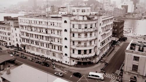 歐式現代化建築--基隆港合同廳舍-今海港大樓