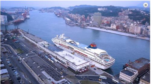 基隆港西2至西4碼頭辦理整建浚深工程,整建後碼頭長度達554公尺,水深-11公尺,可提供22.5萬噸最大型國際郵輪靠泊。