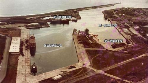 花蓮港第一、二及三期擴建工程相關位置