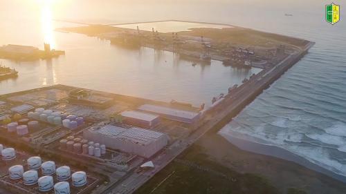 基隆港:基隆新港的替代方案—位於新北市八里的台北港
